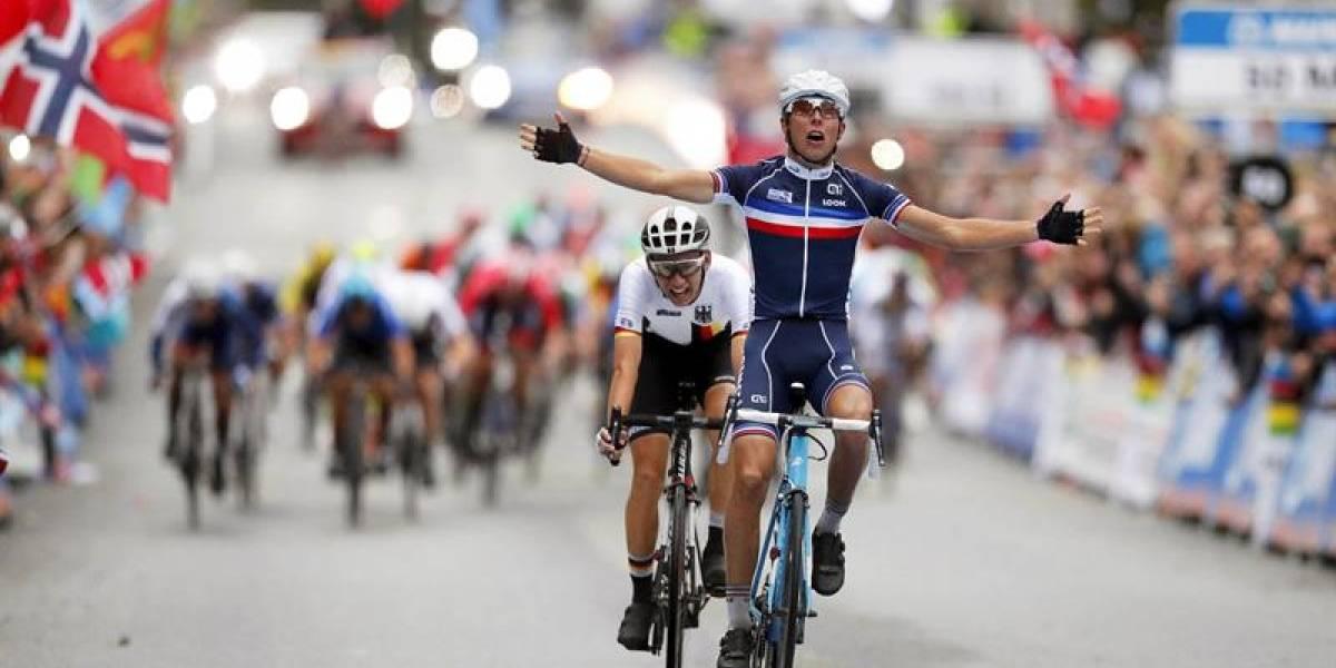 Benoit Cosnefroy, campeón del Mundial de Ciclismo sub-23