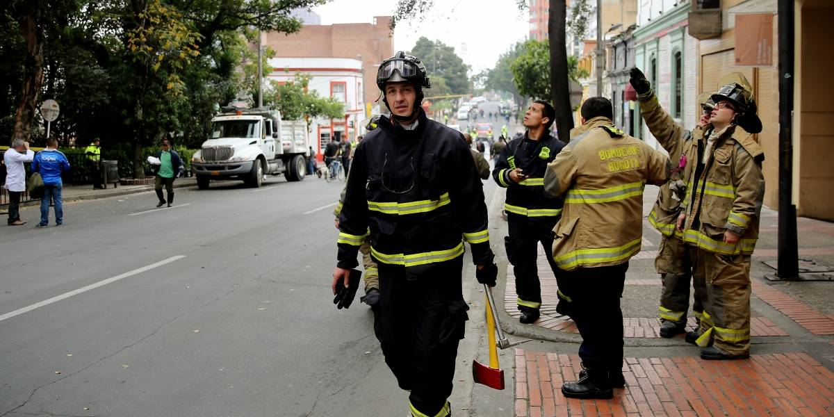 Tres heridos tras colisión múltiple en la capital de país