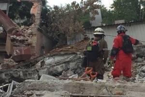 Bomberos de Ecuador en México