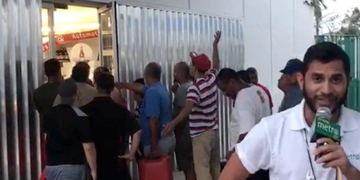 Video: Caos y refugiados en Levittown