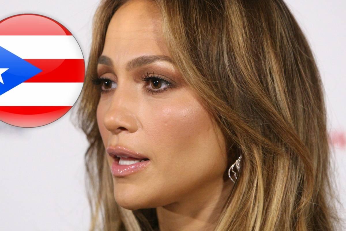 Jennifer Lopez pide apoyo para Puerto Rico tras el huracán