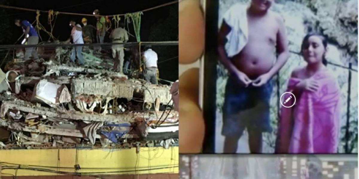 Despiden a los hermanitos que murieron abrazados durante el terremoto en México
