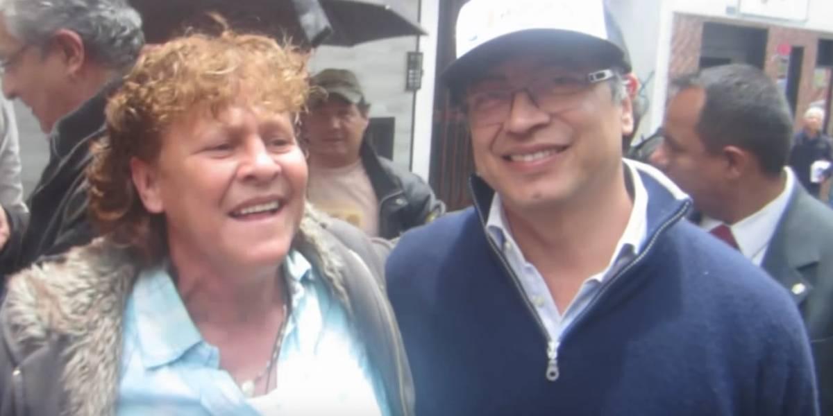 #Video La inesperada reacción de una mujer al ver a Gustavo Petro