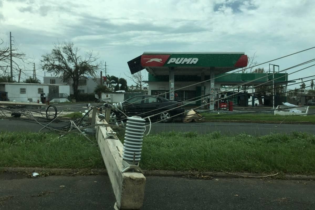 Gasolineras impactadas. Metro Puerto Rico