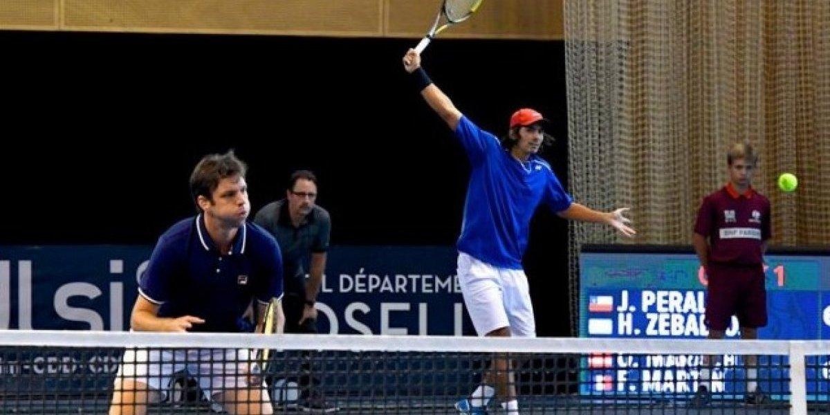 Zeballos accedió a la final del dobles en San Petesburgo