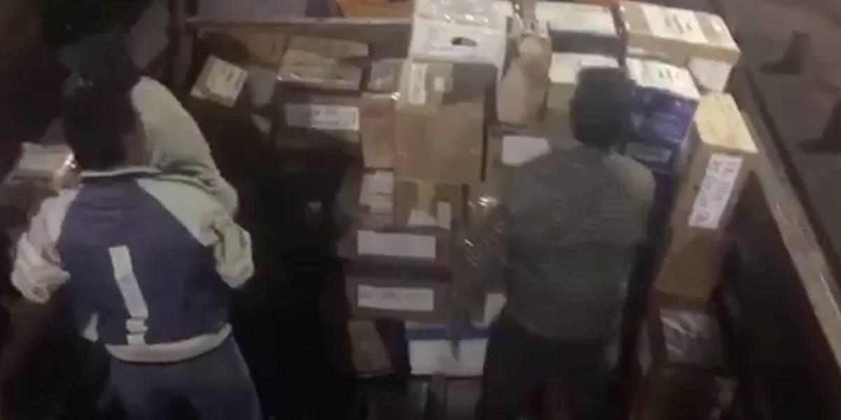 Ecuador envía 13 toneladas de ayuda humanitaria a México