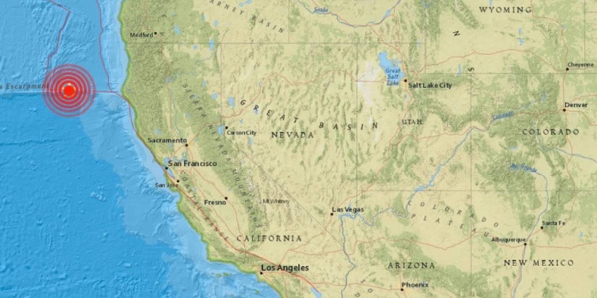¡Atención! Se presentó sismo de 5.7 en California