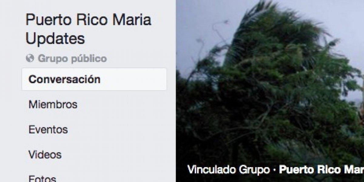 Grupos de Facebook donde pueden hallar información de sus pueblos