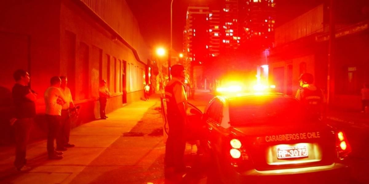 Investigan crimen tipo ajusticiamiento en alrededores de plaza de Puente Alto