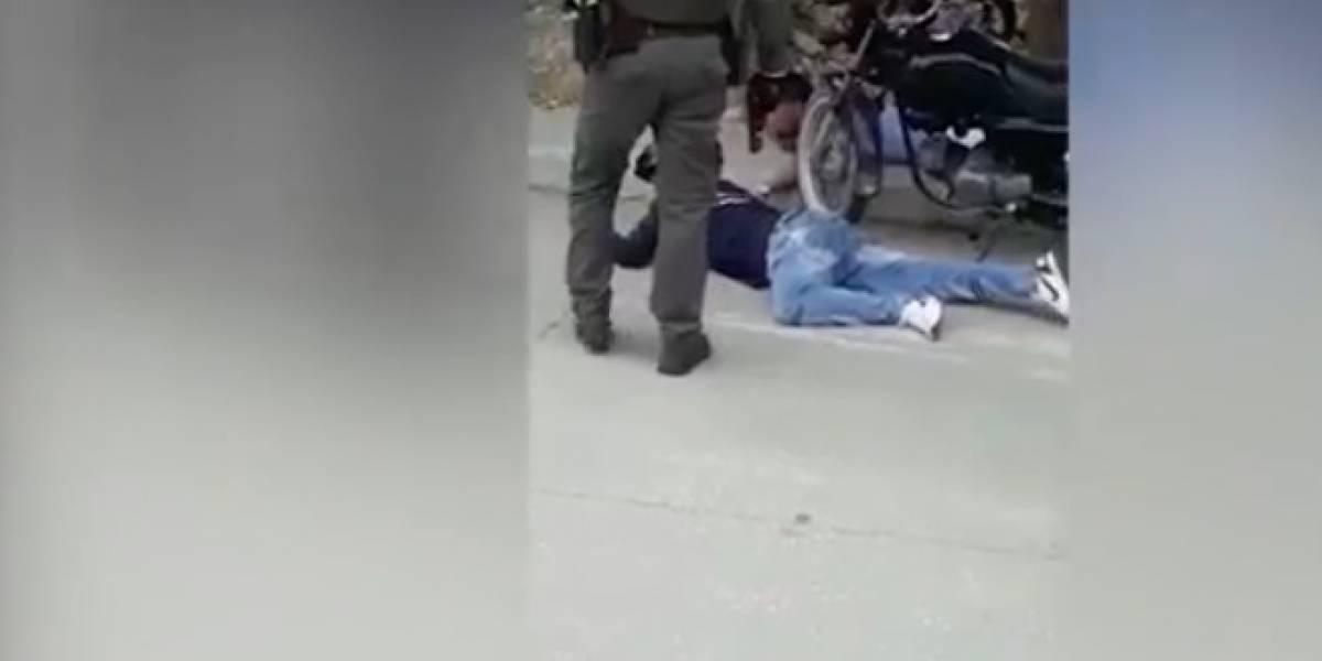 Video: Intentan robar a todos los pasajeros de un bus y casi los linchan