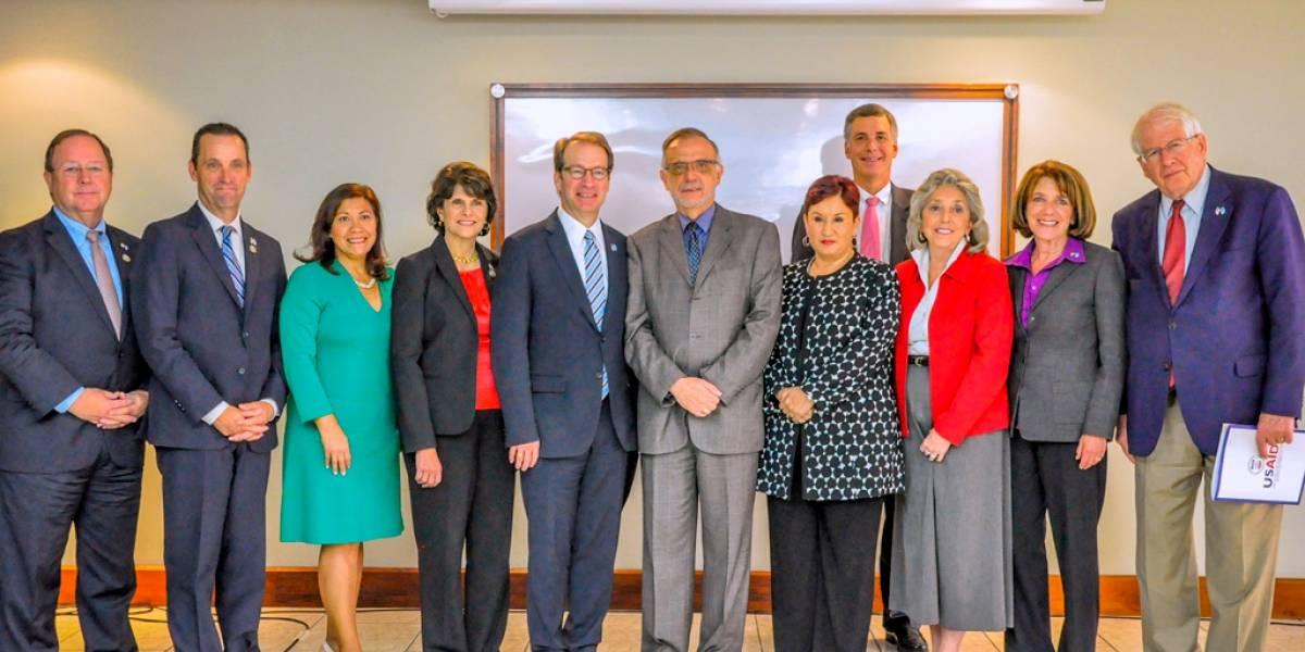 Congresistas de Estados Unidos reiteran apoyo al trabajo del MP y la CICIG