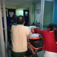Diputado Joel Bámaca sufre accidente