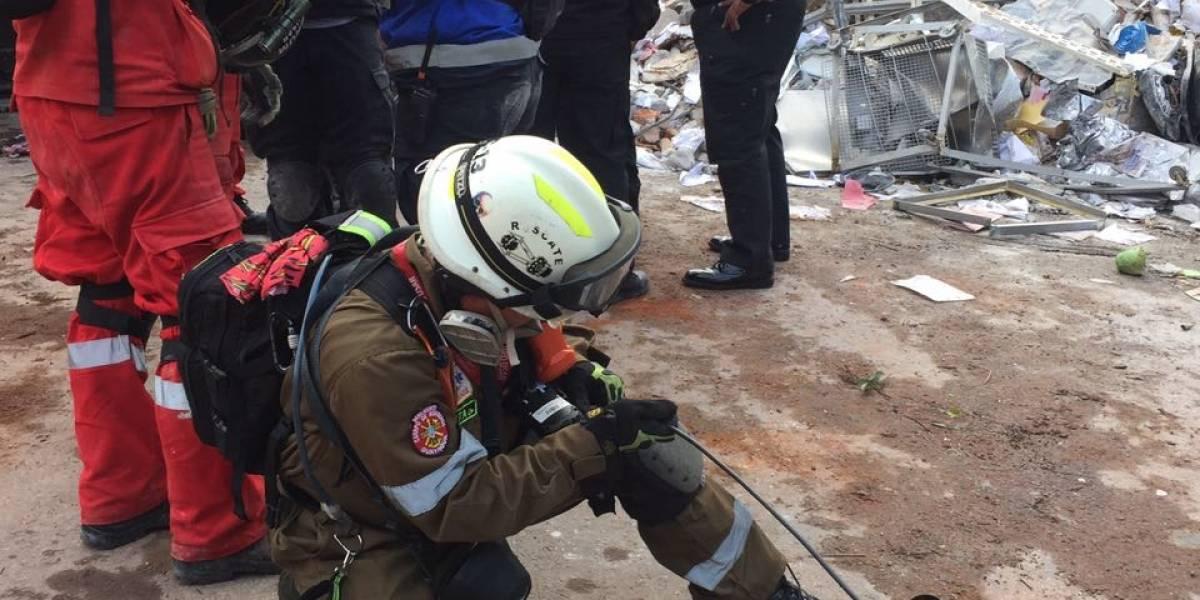 Bomberos ecuatorianos ya están colaborando en México