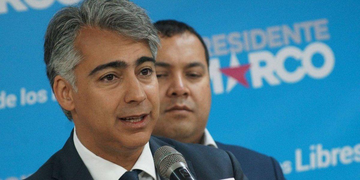 """Marco Enríquez-Ominami: """"la economía está ausente del debate electoral"""""""