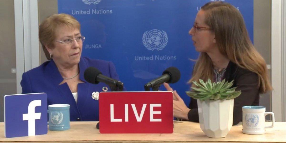 """La defensa """"feminista"""" de Bachelet en la ONU: no evalúen a las mujeres por su peso o su cartera"""