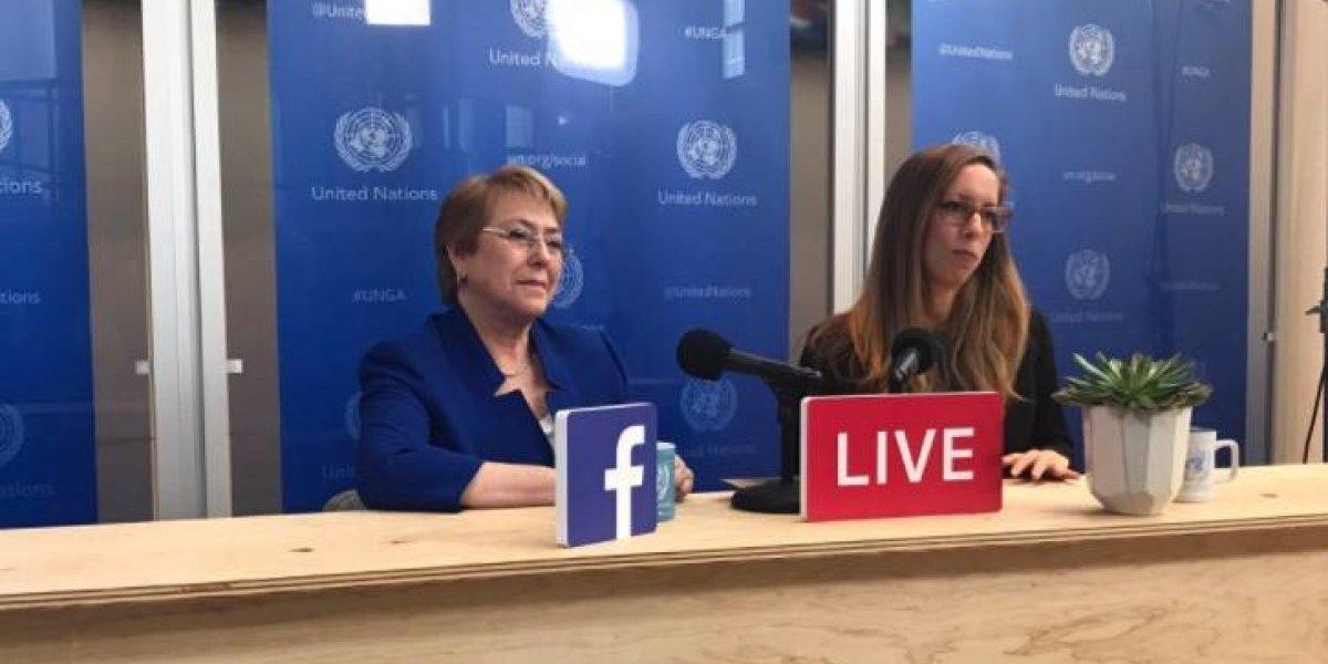 """El """"fantasma de la ONU"""" que pena a Bachelet: otra vez respondió sobre su colaboración gratuita"""