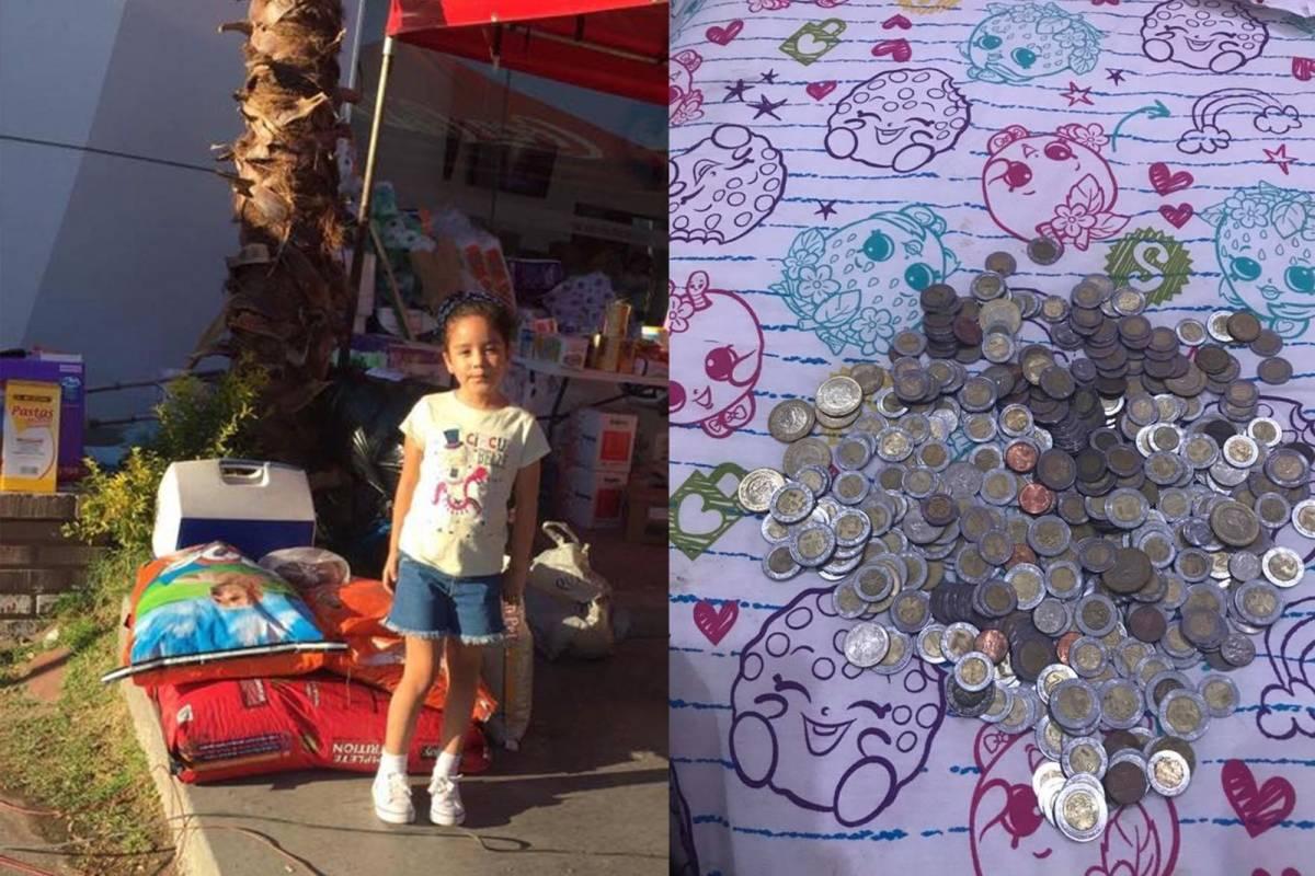 Yo pude ser uno de esos niños: Renata dona sus ahorros
