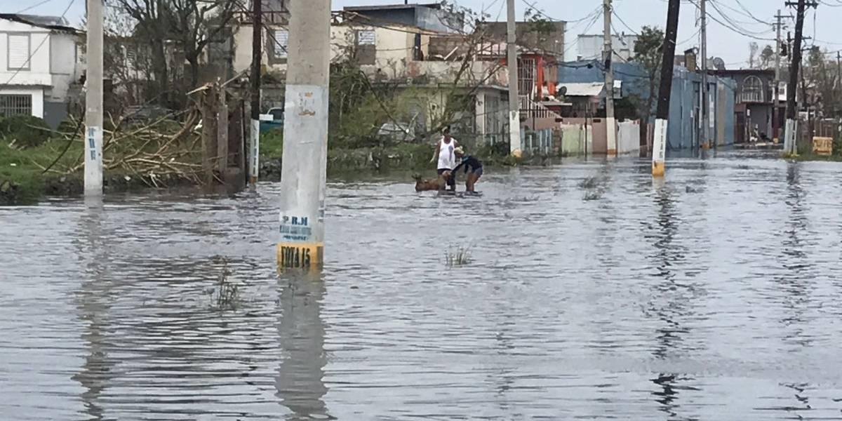 Reportan inundaciones en Toa Baja