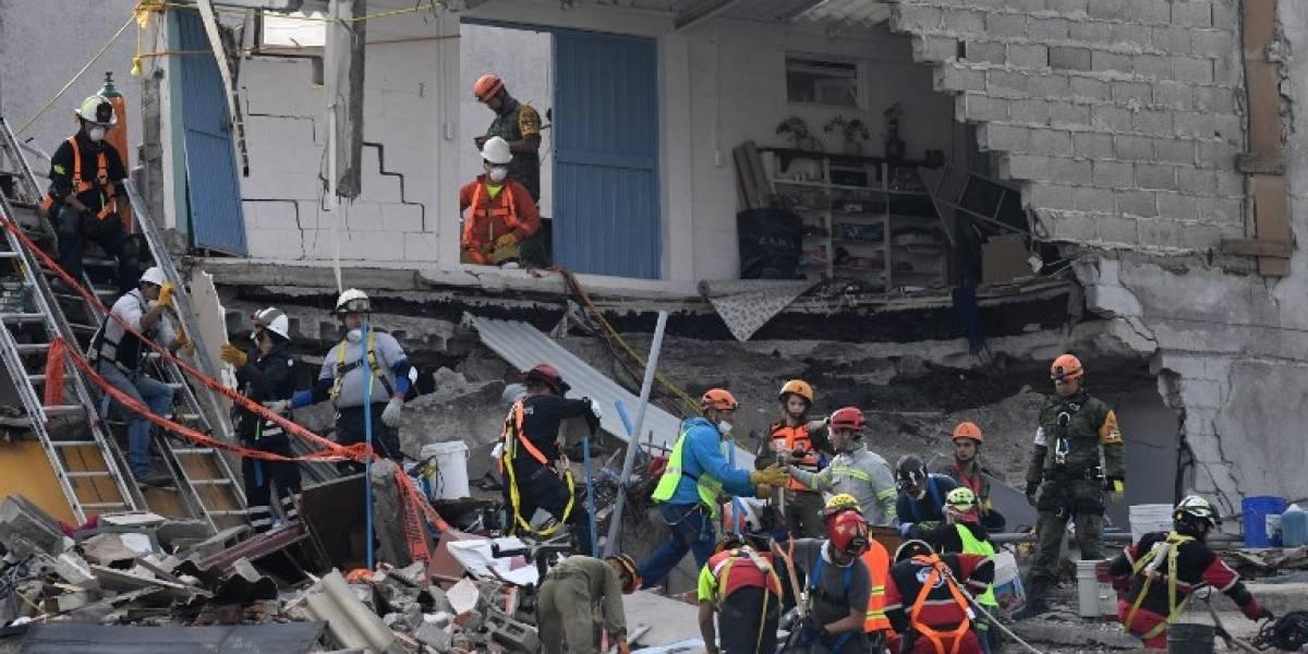 Terremoto en México: reanudan rescate en la capital tras suspensión por nuevo sismo de 6,1