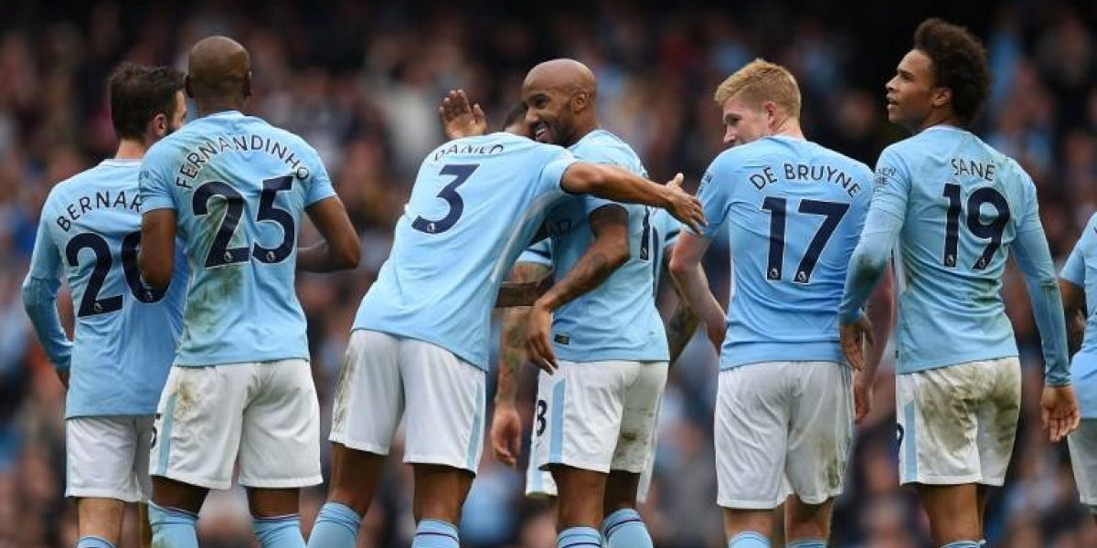 Con Bravo en la banca, Manchester City aplastó al Crystal Palace para seguir de líder en la Premier