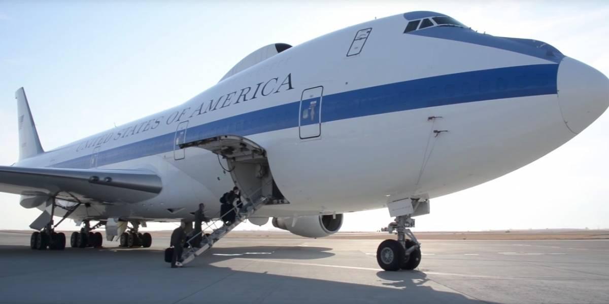"""""""Un búnker aéreo"""": así son los millonarios aviones secretos que salvarán a Trump ante guerra nuclear con Corea del Norte"""