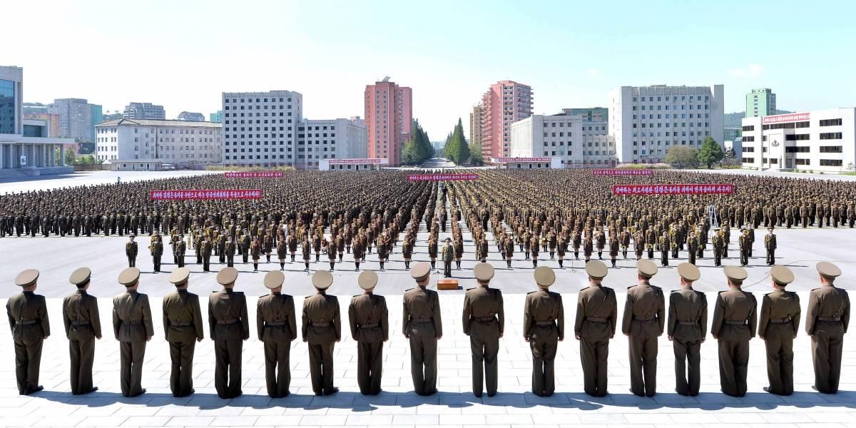 Resultado de imagem para Coreia do Norte diz que lançar foguetes contra os EUA se tornou inevitável
