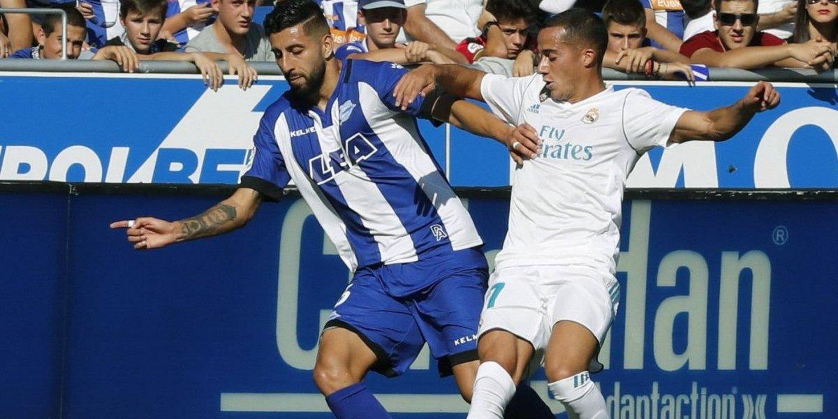 Maripán no pudo contra Cristiano Ronaldo y su Alavés sucumbe ante Real Madrid