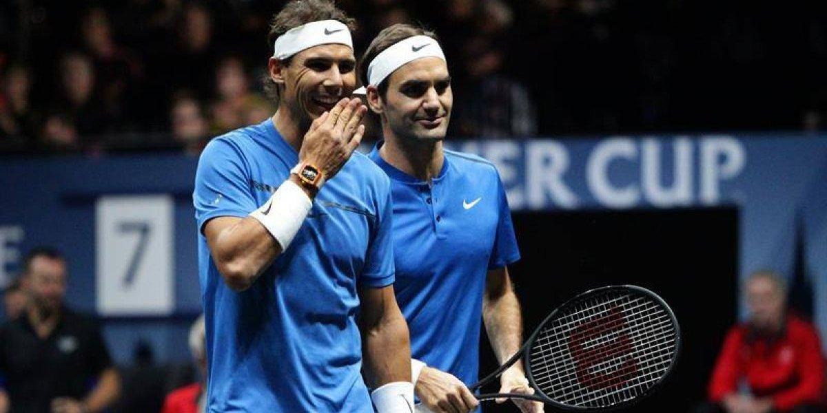 Genios: Federer y Nadal unieron sus poderes por primera vez y ganaron en la Laver Cup