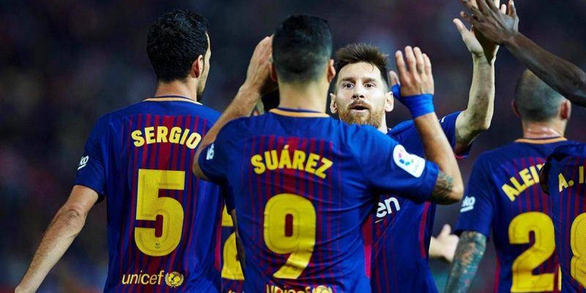 Barcelona sigue perfecto en la Liga con sólido triunfo sobre el Girona