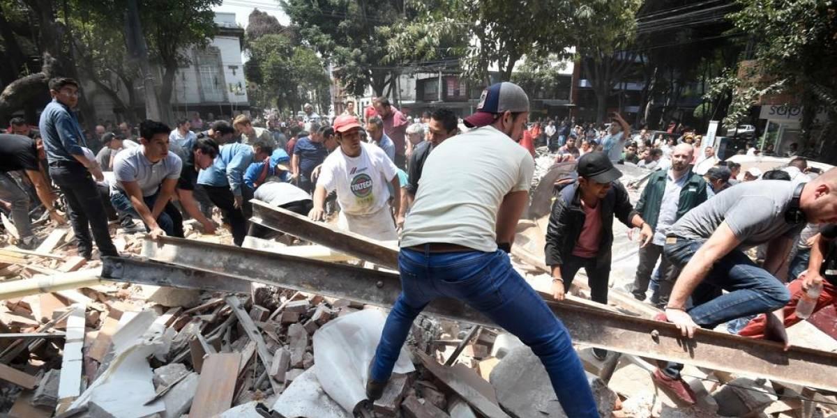 Sismo de 6,1 remece a México y deja dos nuevas víctimas fatales: cifra de muertos tras terremotos sube a más de 300
