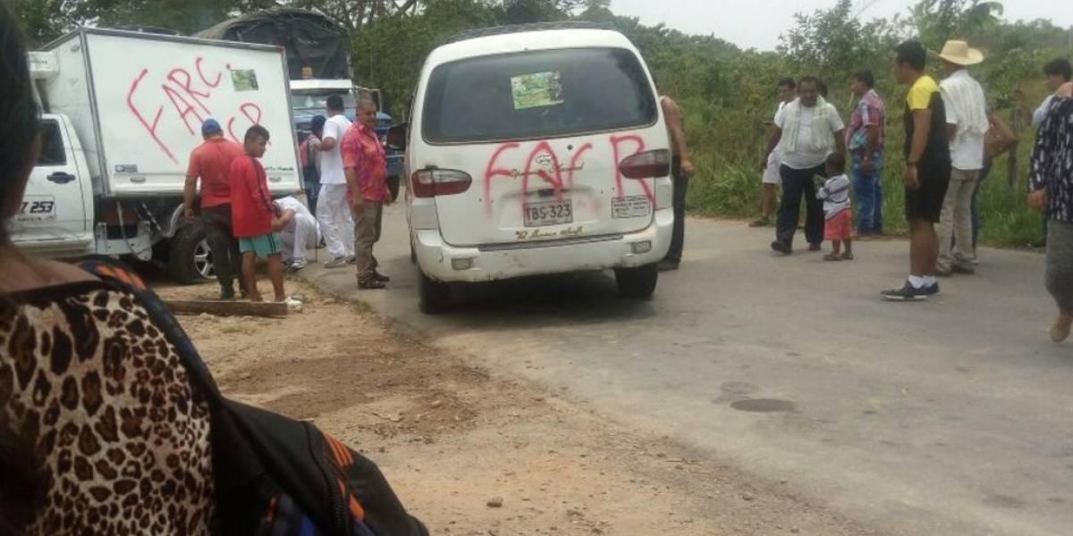 Reportan retén de disidentes de las Farc en Cartagena del Chairá