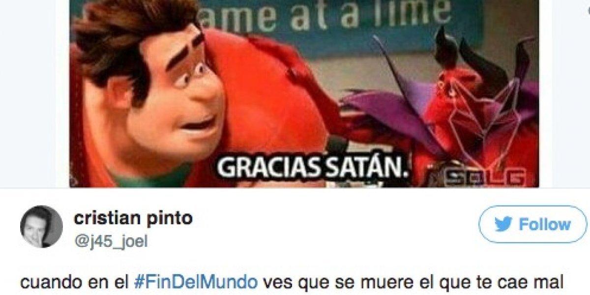 Fotos: Los memes más chistosos del #FinDelMundo