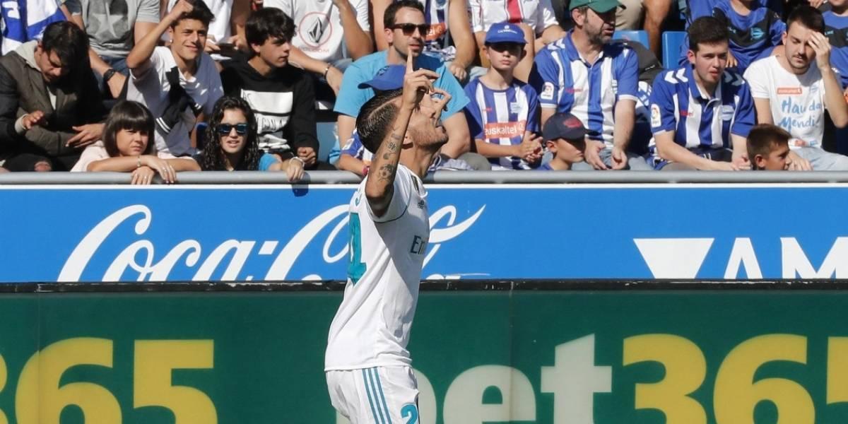 Ceballos salvó al Real Madrid, victoria contra el Alavés de Daniel Torres