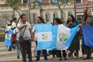 Manifestaciones en la plaza