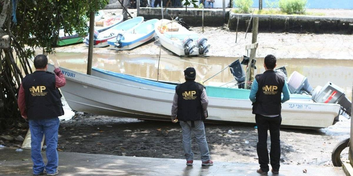 MP incauta 33 lanchas tiburoneras en embarcaderos de Iztapa