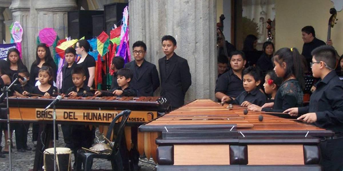 """Ayuda a los pequeños marimbistas del proyecto """"Luis de Lión"""" a venir a la capital"""