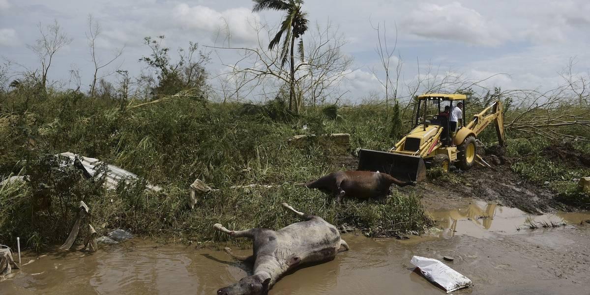 Extienden toque de queda tras huracán María en Puerto Rico