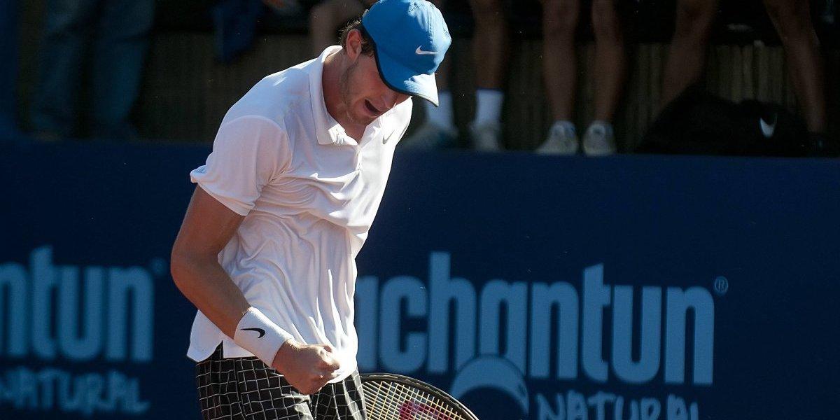 Nicolás Jarry sigue en racha y quedó a un triunfo de jugar el ATP 250 de Shenzhen