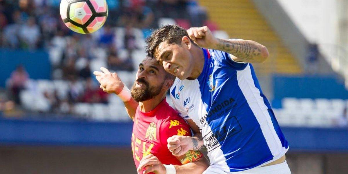 Antofagasta y Unión jugaron un partidazo en el norte al que solo le faltó el gol