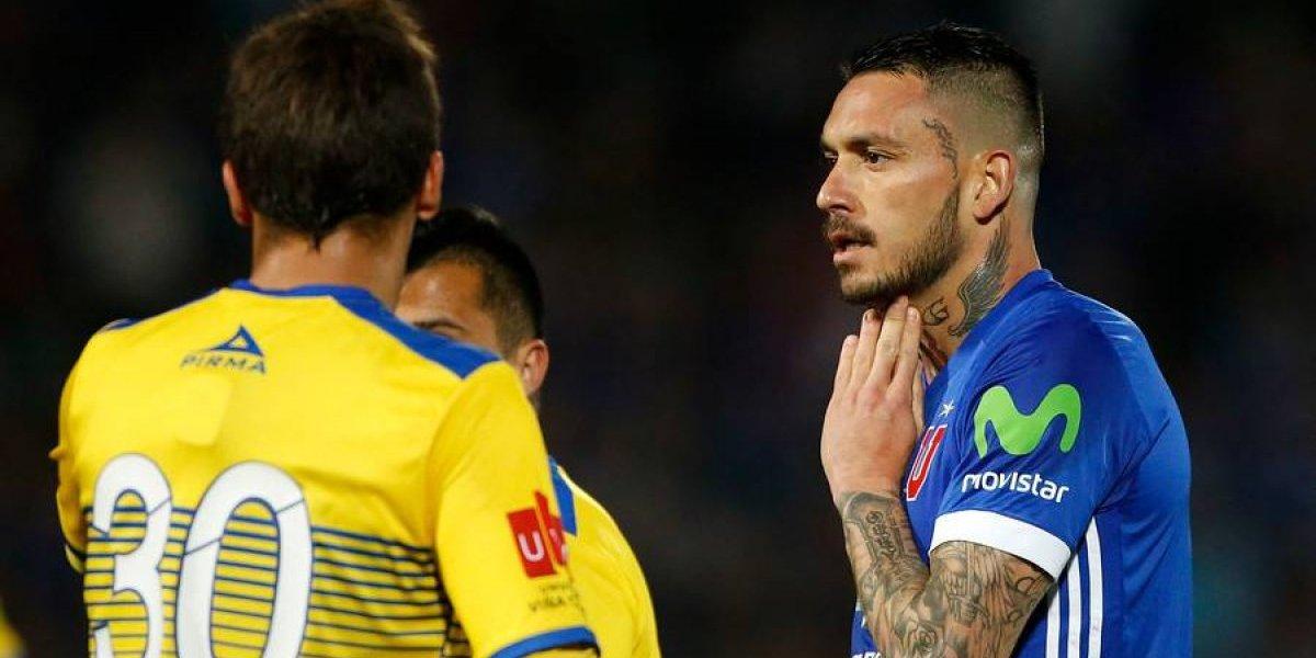 """El lamento de Pinilla en la U: """"El 2-0 es peligroso porque nos hace relajarnos"""""""