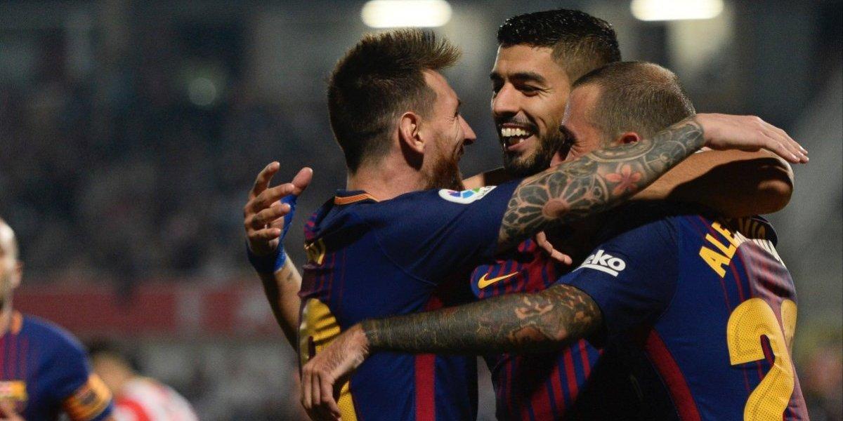 El Girona le sirve en bandeja el triunfo al Barcelona
