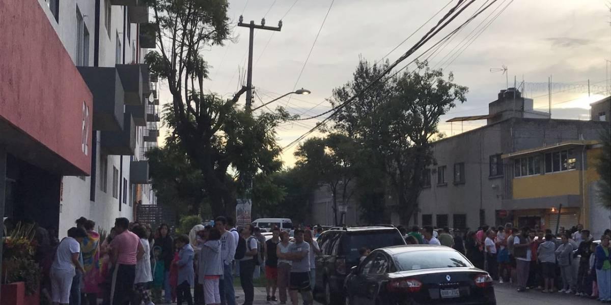 Sismo de 6.1 grados despierta a la Ciudad de México