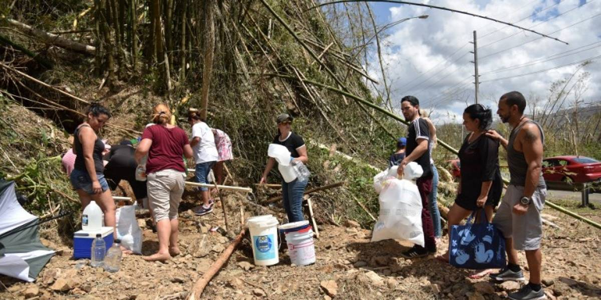 Huracán María: Empeoran las condiciones de vida de los puertorriqueños