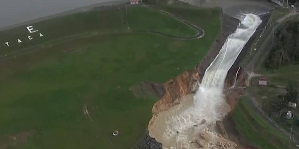 Lluvias no permiten nuevas evaluaciones a estructura de represa Guajataca