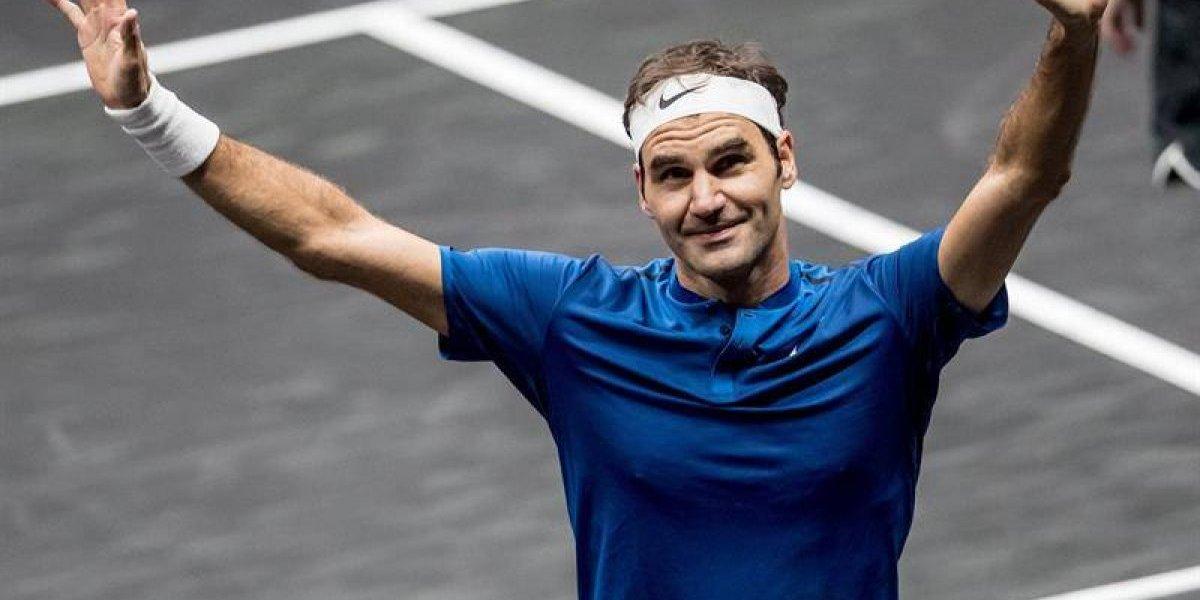 Roger Federer se convirtió en el héroe que le dio la Laver Cup a Europa