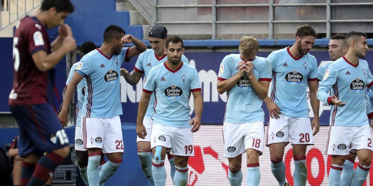 Celta de Vigo resolvió por goleada partido contra el Eibar