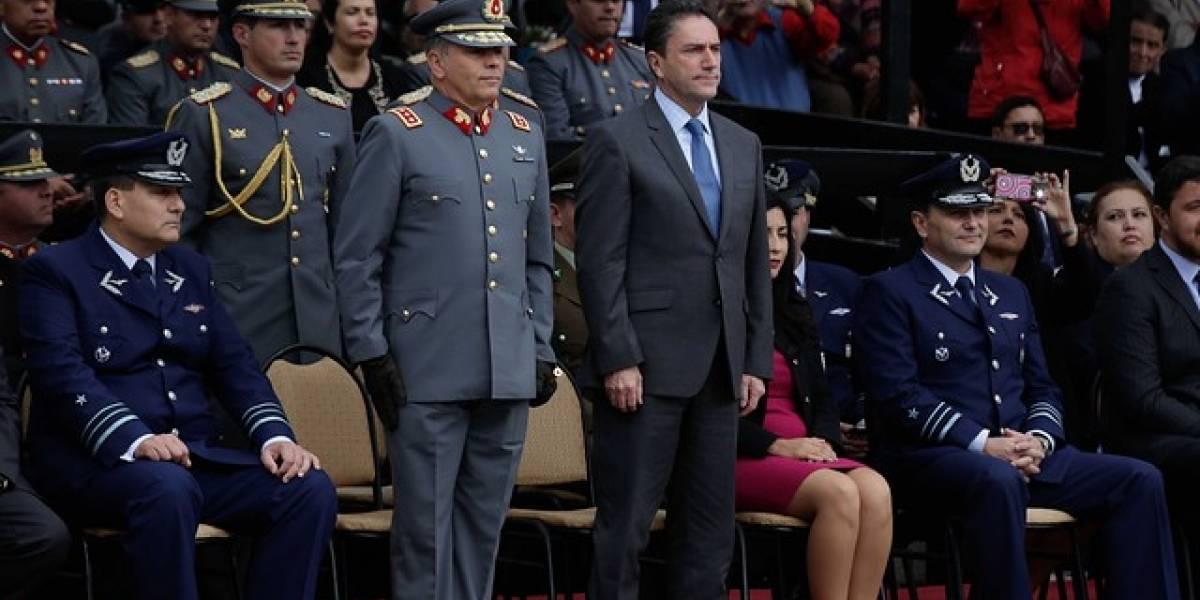 "Ministro Gómez: ""Es imposible que exista documentación en FF.AA. hoy día que esté oculta"""