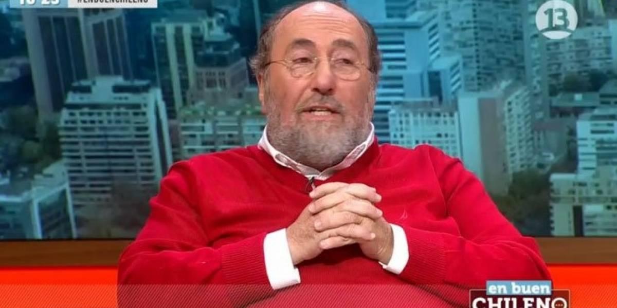 """""""En buen chileno"""": Canal 13 defiende presencia de Sergio Melnick y panelista compara a Beatriz Sánchez con Maduro"""