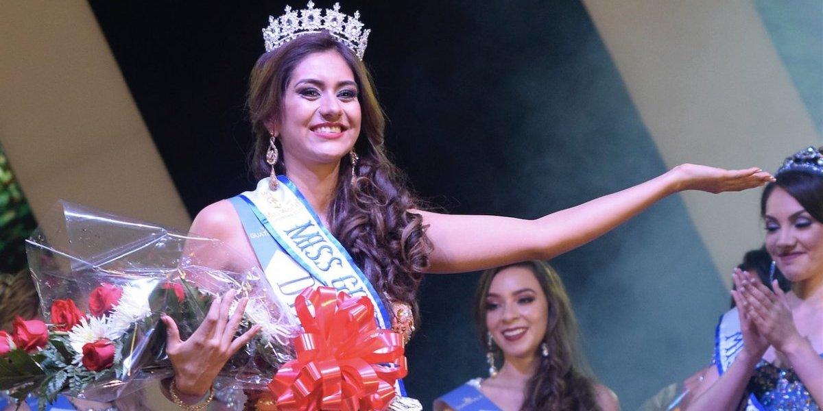 Elizabeth Gramajo es la Miss Guatemala Mundo número 38