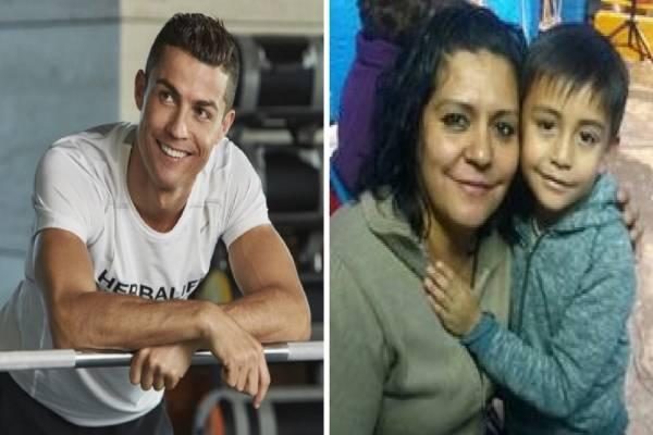 Cristiano Ronaldo mensaje